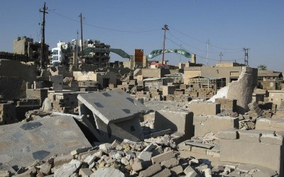 Destruction in the Oldest Sections of Najaf Cemetery