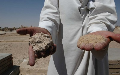 This is the Sand of the Holy Land